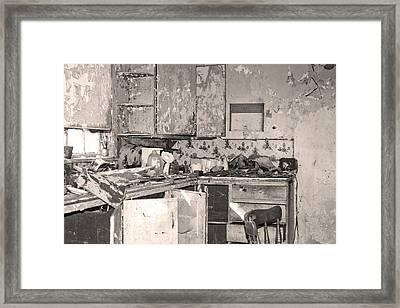 Shambles Framed Print