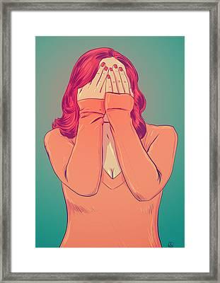 Shame Framed Print by Giuseppe Cristiano