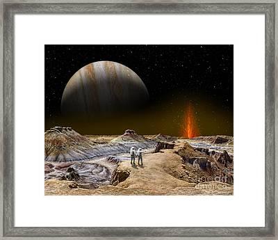 Shamshu Soujourn  Framed Print by Tharsis Artworks