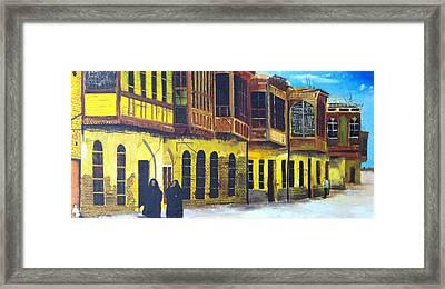 Shanasheel Of Old Baghdad Framed Print by Rami Besancon