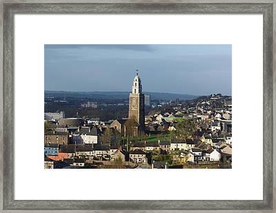 Shandon Bells Tower In Cork City Framed Print by Patrick Dinneen