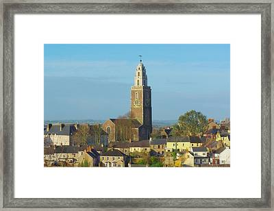 St Annes Tower Shandon Tower Cork City Framed Print by Patrick Dinneen