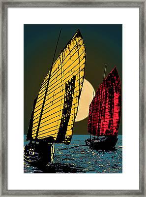 Shanghai Sugar Framed Print