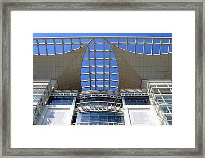 Shanghai Urban Planning Exhibition Building Framed Print by Charline Xia