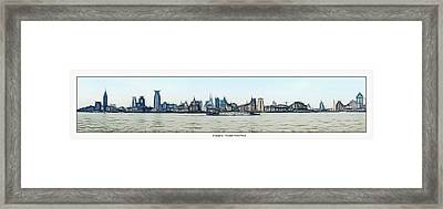 Shanghai Waitan Waterfront Framed Print