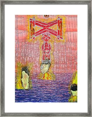 Shango 2 Framed Print by Duwayne Washington
