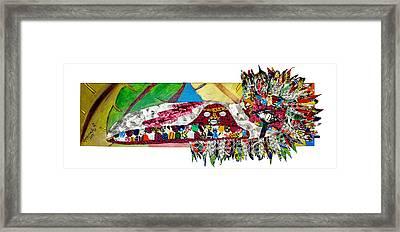 Shango Firebird Framed Print