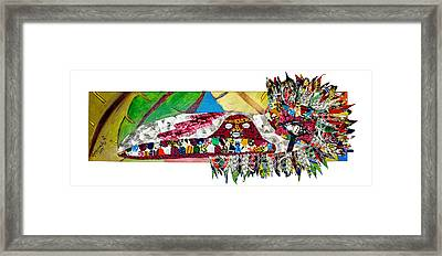Shango Firebird Framed Print by Apanaki Temitayo M