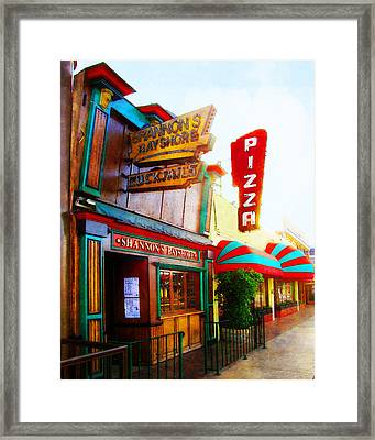 Shannon's Bayshore Framed Print by Timothy Bulone