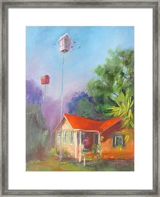 Shannons Cottage Framed Print by Susan Richardson
