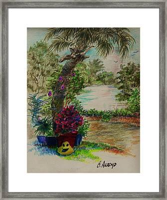 Shannon's  Garden Framed Print