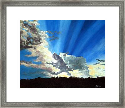 Shannon's Sky Framed Print