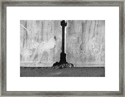 Shape Framed Print by John Rossman
