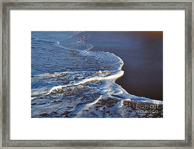 Shapely Seashore Framed Print
