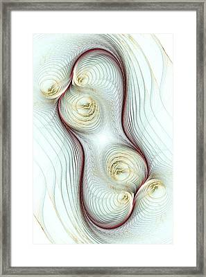 Shapes Framed Print by Anastasiya Malakhova