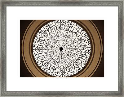 Shapes Framed Print by Kristopher Schoenleber