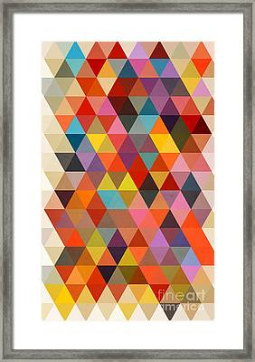 Shapes Framed Print by Mark Ashkenazi