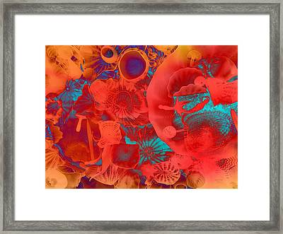 Shapes Sizes Colors Framed Print