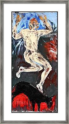 Shapeshifter4 Framed Print by Ulrich De Balbian
