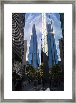 Shard London Framed Print