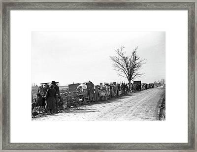 Sharecroppers, 1939 Framed Print