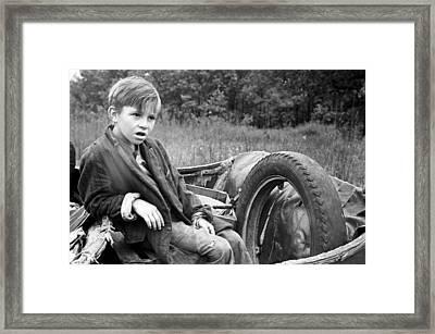 Sharecropper's Son, 1935 Framed Print