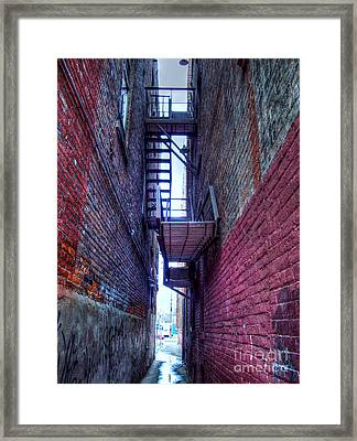 Shared Escape Framed Print