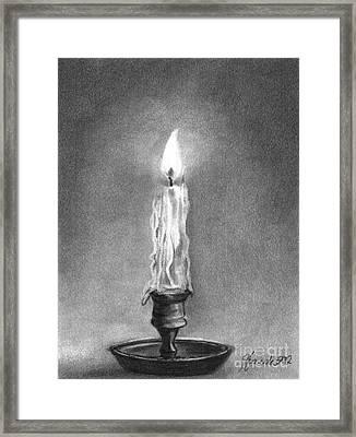 Shared Light Framed Print