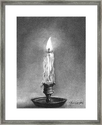 Shared Light Framed Print by J Ferwerda
