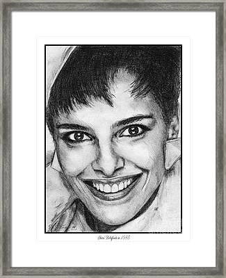 Shari Belafonte In 1985 Framed Print by J McCombie