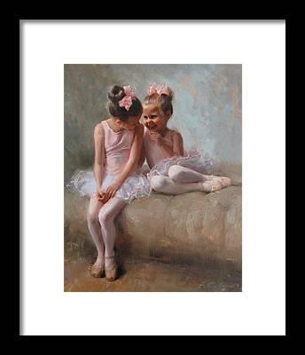 Pink Ribbon Framed Prints