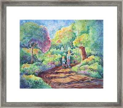 Sharing The Journey Framed Print by Michael Bulloch