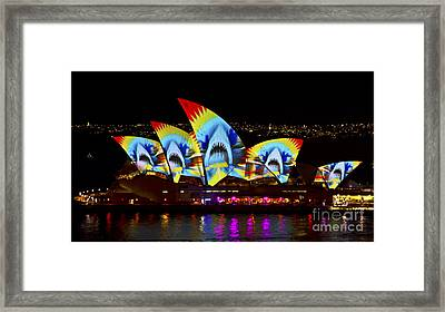 Shark Sails Framed Print by Bryan Freeman