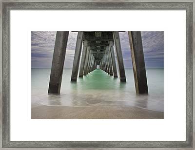 Sharkies Pier Framed Print