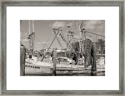 Sharon Framed Print by Russell Christie