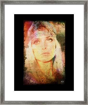 Sharon Tate - Angel Lost Framed Print