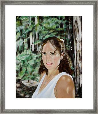 Sharon Valterria Framed Print