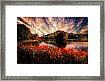 Sharp Top Framed Print