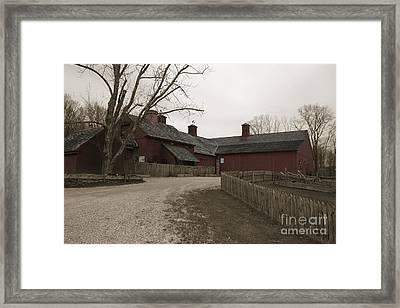 Sharpe Hill Vineyard Framed Print