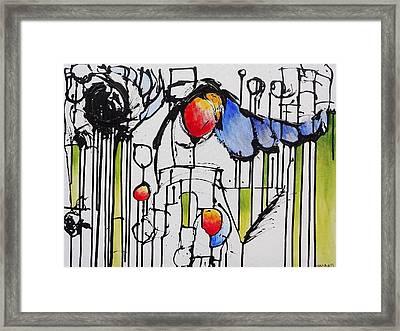Sharpened Perception Framed Print