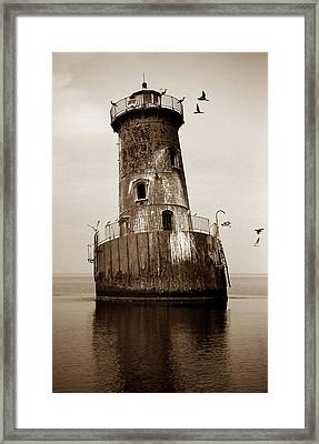 Sharps Island Lighthouse Framed Print