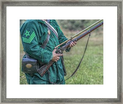 Sharpshooter Framed Print by Randy Steele