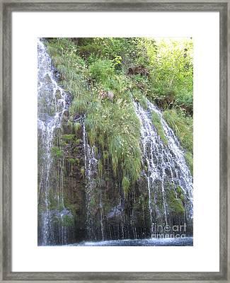 Shasta Aquifer  Framed Print