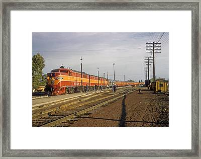 Shasta Daylight Framed Print
