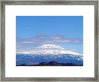 Shasta  Framed Print by William McCoy