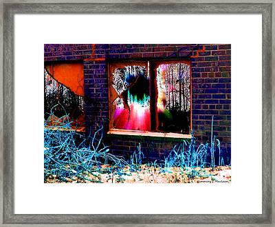 Shatter Framed Print