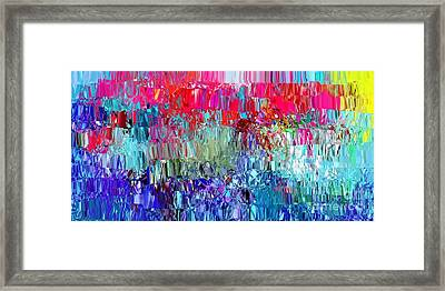 Shattered Framed Print by The Art of Alice Terrill