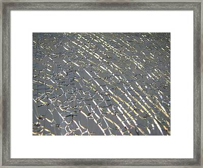 Framed Print featuring the photograph Shattered by Beth Vincent