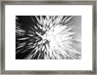 Framed Print featuring the photograph Shattered by Dazzle Zazz
