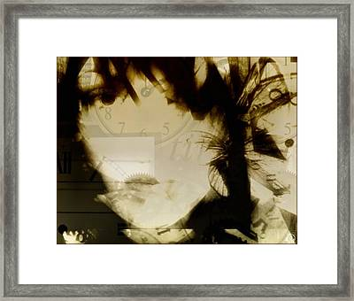 Shattered Life-wasted Time Framed Print by Gun Legler